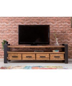 Tv1498 masif ahşap tv ünitesi
