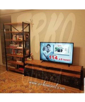 tv 1786 ahşap tv unıtesı