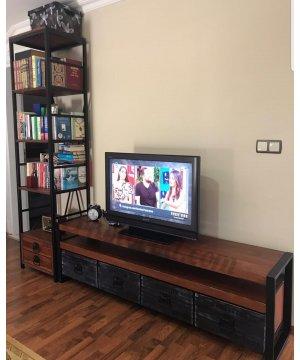 TV 1494 TV ÜNİTESİ VE KİTAPLIK